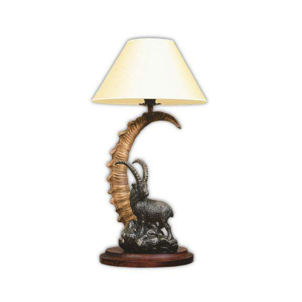 Arture asztali lámpa szoborral - ibex
