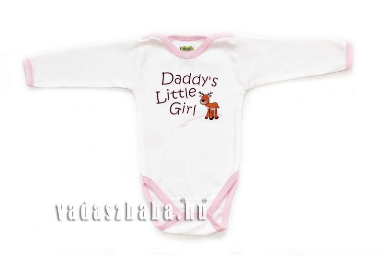 "MOKI BODY ""DADDY"" FELIRATTAL FEHÉR  (ML14003)"