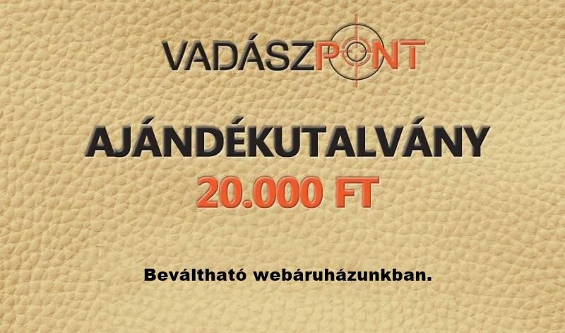 AJÉNDÉKUTALVÁNY 20.000 FT
